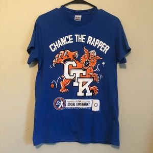 Chance the Rapper University of KY concert shirt